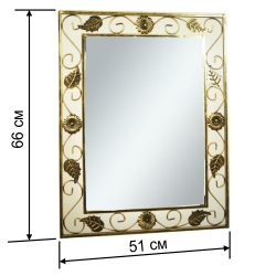 Кованое зеркало №1 / комплект
