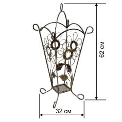Кованая подставка для зонтов 5