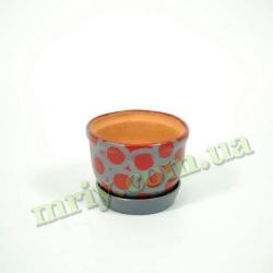 Горшок для цветов Е-№4 тамп.   V0,6