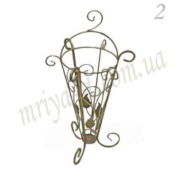 Кованая подставка для зонтов 2
