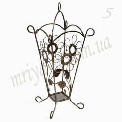 Кованая подставка для зонтов 5/комплект