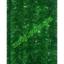 Новогодняя мишура Д10/н зеленый