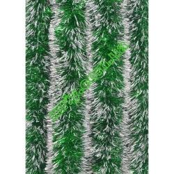 Новогодняя мишура Д10/н зеленый/б