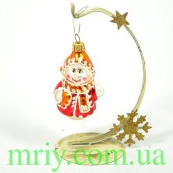 Новогодняя игрушка КА 79 снеговик