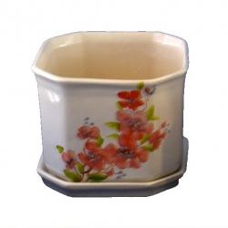 Горшок для цветов  Р016 Восьмигранний