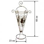 Кованая подставка для зонтов 1