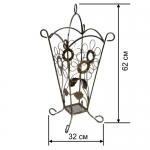 Кованая подставка для зонтов 5/комплект (1шт.)