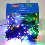 Гирлянда электрическая 300 ЛЕД/ч цветная