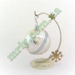 Новогодняя игрушка Шар d80 А-227-1 / 1