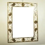 Кованное зеркало №1