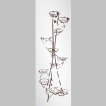 Подставка под цветы Спираль кв. 101 H 170 квадрат