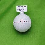 Новогодняя игрушка Т028/01 шар 60