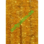Новогодняя мишура Д10/н желтый