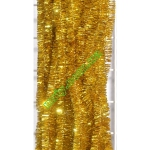 Новогодняя мишура Д2/н желтый