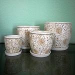 Набор керамических горшков К1.223