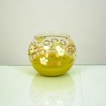 Ваза стеклянная шар 017