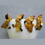 Стикер К4.126 Пчелка мал.