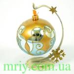 Новогодняя игрушка 2646/2 шар 100